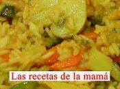 Receta fácil arroz verduras curry
