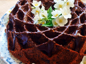 Banana, walnuts chocolate bundt cake National Bundt 2015