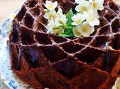 Banana, walnuts chocolate bundt cake National Bundt 2015