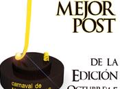 Premio mejor entrada 'Edición 6.7: punto' Carnaval Matemáticas