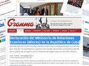 Cuba condena politización tema migratorio parte EE.UU.