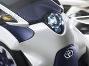 Toyota i-Road otro pequeño vehículo concepto eléctrico para desplazarte ciudad emplea interesante tecnología desplazamiento