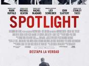 Póster trailer español spotlight