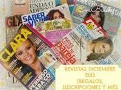 Revistas Diciembre 2015 (Regalos, Suscripciones viene)