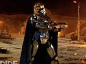 Star wars: despertar fuerza: nuevo vistazo capitán phasma gracias empire