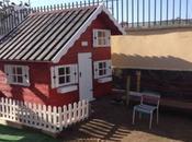 Resultado instalación caseta madera infantil instalada propios clientes palmas gran canaria