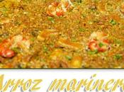 Arroz marinero paella.
