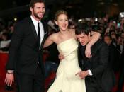 Jennifer Lawrence, Liam Hemsworth Josh Hutcherson visitan Hormiguero