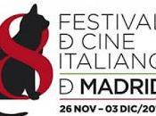 VIII FESTIVAL CINE ITALIANO MADRID Programación