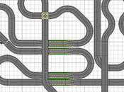 1364. Gran circuito scalextric 30,20m cuerda