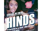 Hinds vuelven Madrid