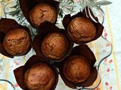 Muffins calabaza plátano