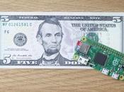 ultima computadora Raspberry cuesta solo $5.00