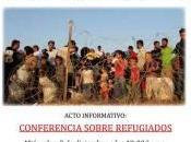 Conferencia sobre refugiados, acto informativo organizado Plataforma Marea Paz, Fraternidad Derecho Asilo