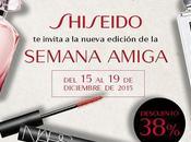 Semana Amiga Shiseido Navidad 2015