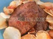 Iscas fígado portuguesa filete higado