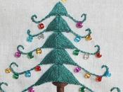 Tutorial: Árbol Navidad bordado embroidered Chirstmas tree