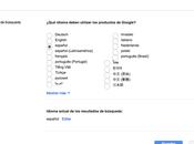 ¿Cómo Google AdWords calcula ubicación idioma?