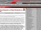"""Columna Chile: Farándula Espacial Nasa Romperán Monotonía"""""""