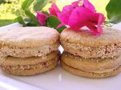 Galletas rellenas dulce leche cacahuete