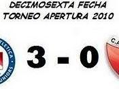 Argentinos Juniors:3 Colón: (16° Fecha)