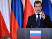 Presidente ruso llega Polonia