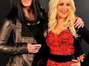 Christina Aguilera Cher llegan Madrid para presentar 'Burlesque'
