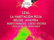 Festival Sentidos 2016: Izal, Belize, Habitación Roja, Amatria...