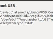 Como montar particiones exFAT Linux