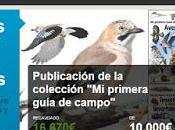"""Verkami destaca nuestro proyecto para publicar Colección primera Guía Campo"""""""