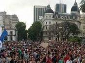 Argentina protestaron derogación Medios