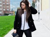 Outfit Contrastes Black White Curvy girl