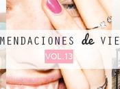 Recomendaciones viernes Vol.XIII