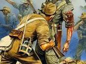 Héroes británicos guerra Katana contra japoneses