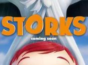 Afiche tráiler película animada #Storks