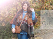 PONCHO JEANS Outfit