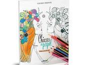 Sorteo Libro para colorear: Chicas papel