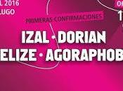 2016 tendrá Izal, Dorian, Belize, Agoraphobia...