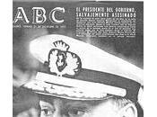 Operación ogro: asesinato carrero blanco