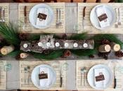 Decora mesa Navidad