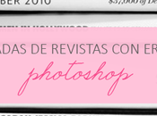 errores Photoshop portadas revistas