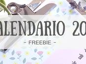 Freebie Calendario 2016