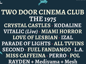 1975, Miami Horror, Miss Caffeina, Perro Arenal Sound 2016