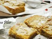 Blondies caramelos toffee para desearos dulce feliz Navidad