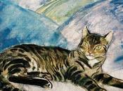 Cuadros gatos mujeres pintor húngaro János Vaszary