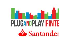 Plug Play Banco Santander apoyan fintech
