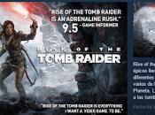 Steam anuncia Rise Tomb Raider (PC) para enero