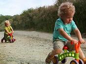 Toddlebike, bicicleta introducción máquinas pedales, lanza segunda versión