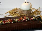 Turrón chocolate crujiente lactosa frutos secos