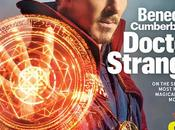 Vistazo oficial benedict cumberbatch como doctor extraño desde revista entertainment weekly